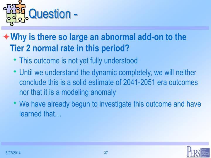 Question -