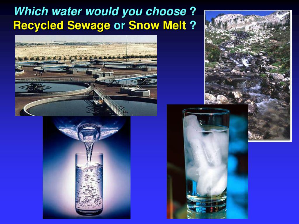 Which water would you choose