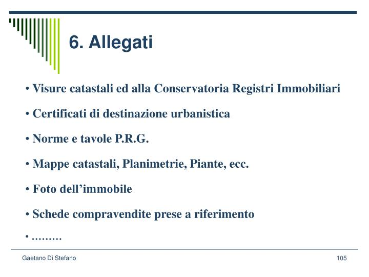 6. Allegati