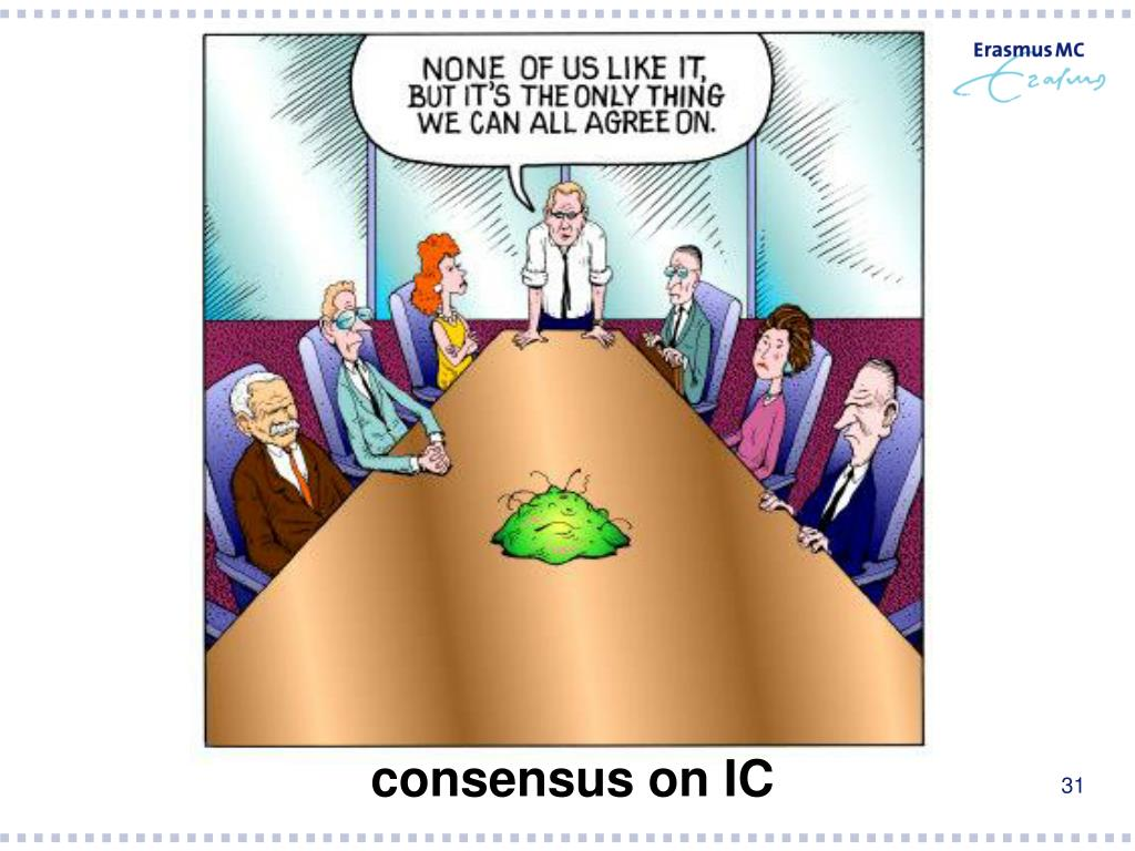 consensus on IC