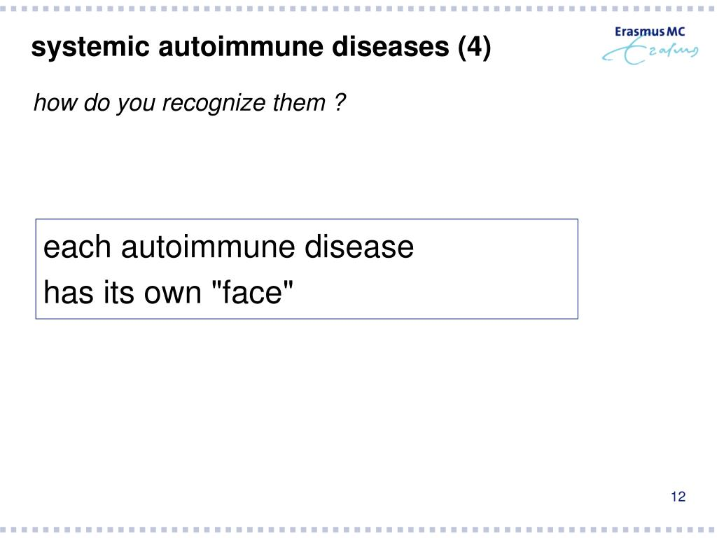 systemic autoimmune diseases (4)