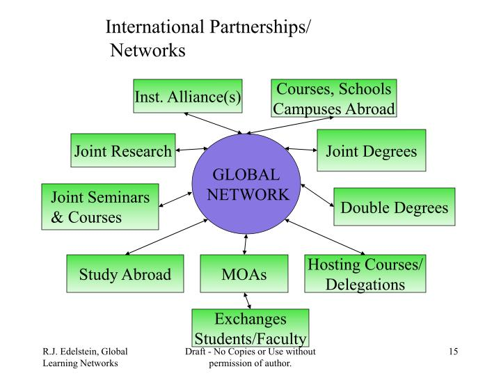 International Partnerships/