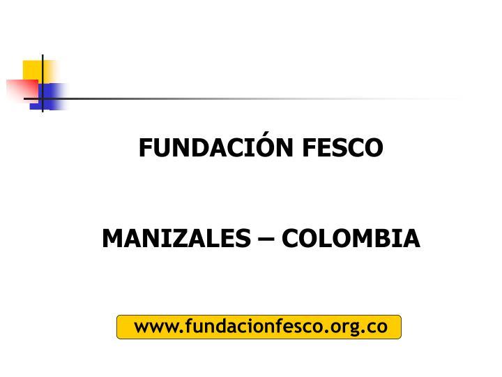 FUNDACIÓN FESCO