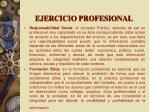 ejercicio profesional1