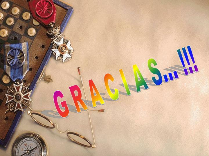 G R A C I A S... !!!