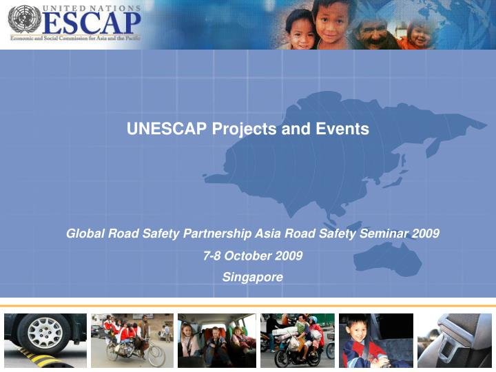 UNESCAP Projects and Events