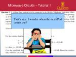 microwave circuits tutorial 14