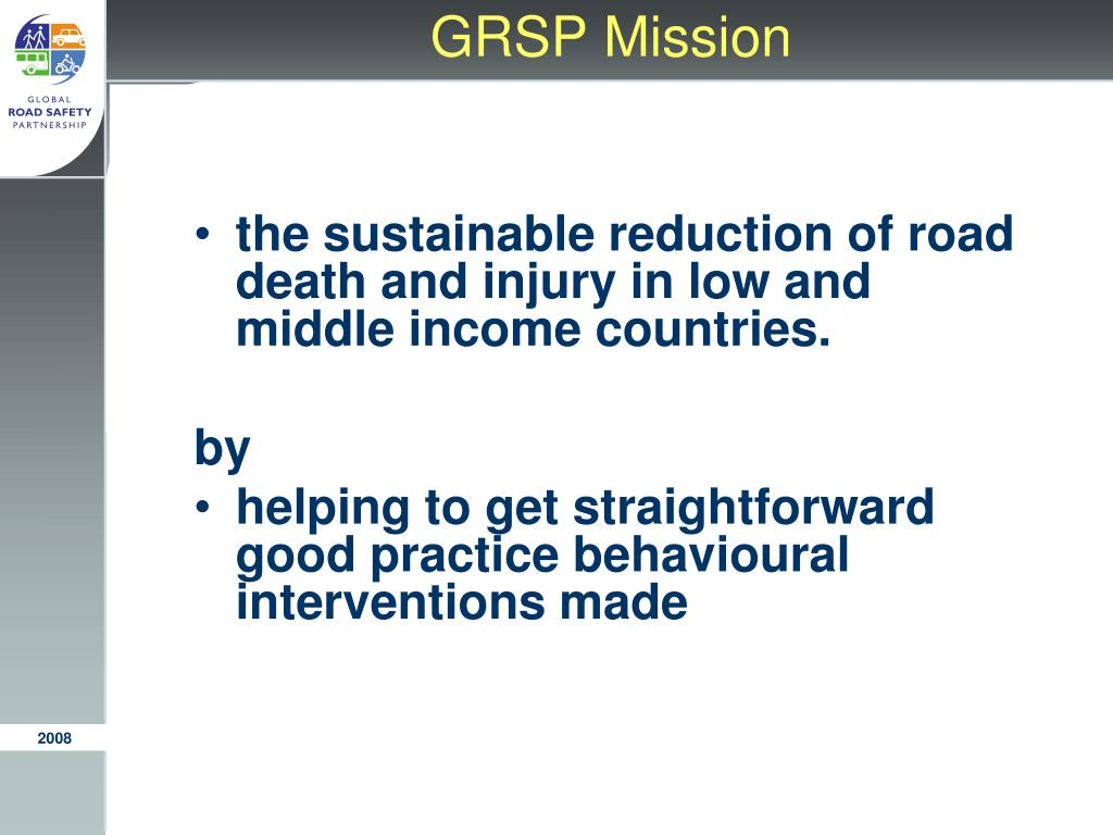 GRSP Mission
