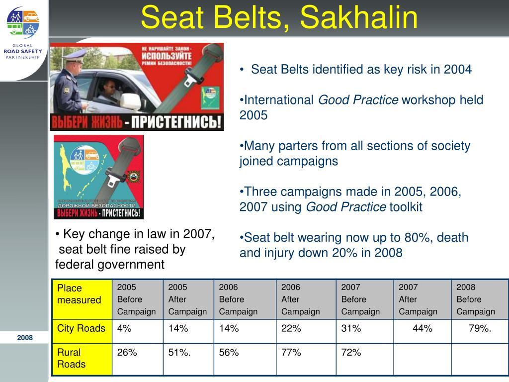Seat Belts, Sakhalin