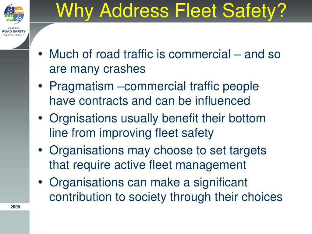 Why Address Fleet Safety?