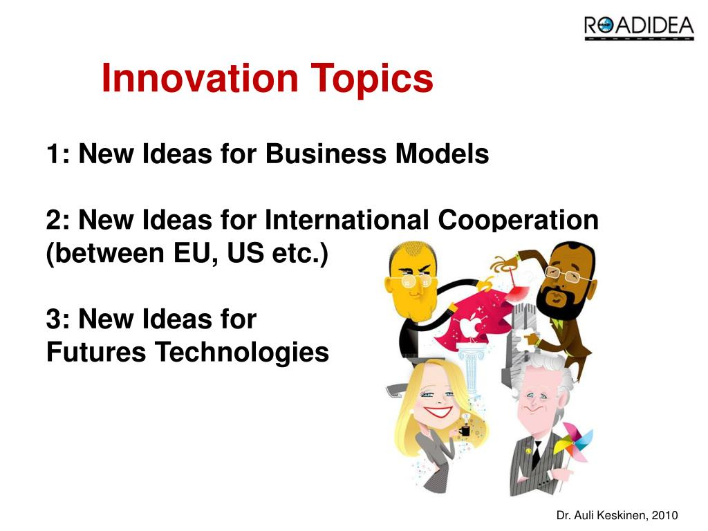 Innovation Topics