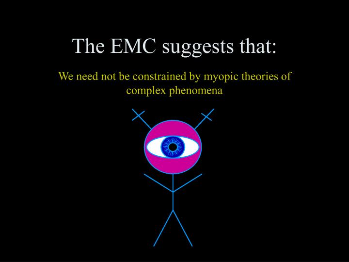The EMC suggests that: