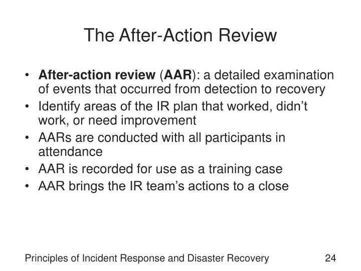 The After-Action Review