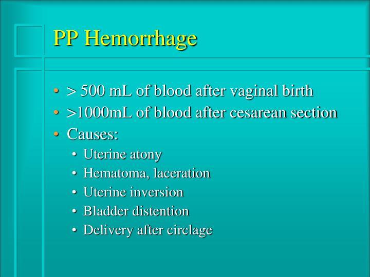 PPT - Postpartum Complications PowerPoint Presentation ...