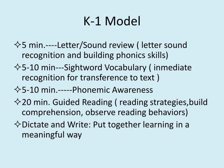 K-1 Model