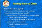 meeting dates times