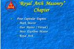 royal arch masonry chapter