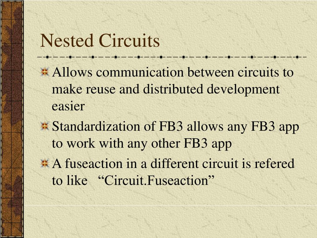 Nested Circuits