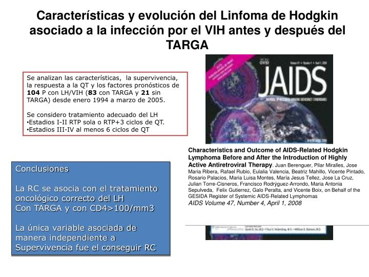 Characteristics and Outcome of AIDS-Related Hodgkin Lymphoma Before and After the Introduction of Highly Active Antiretroviral Therapy