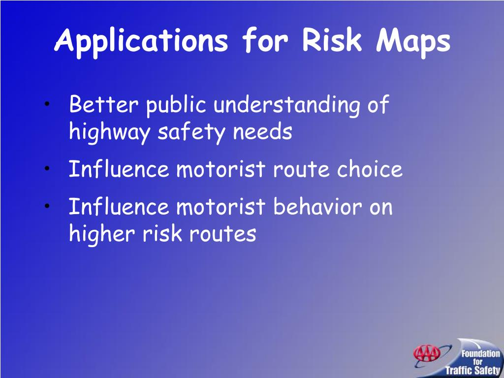 Applications for Risk Maps