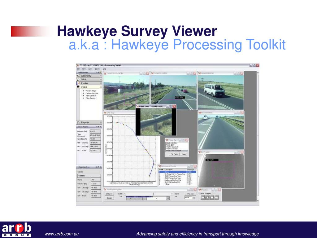 Hawkeye Survey Viewer
