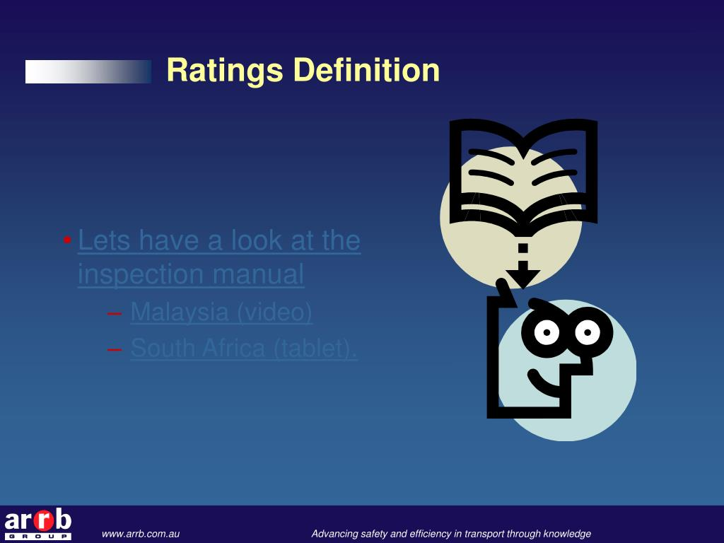 Ratings Definition