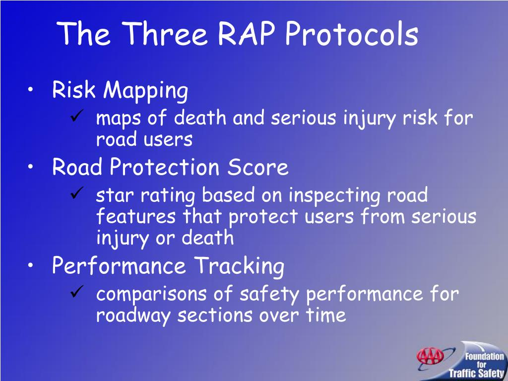 The Three RAP Protocols