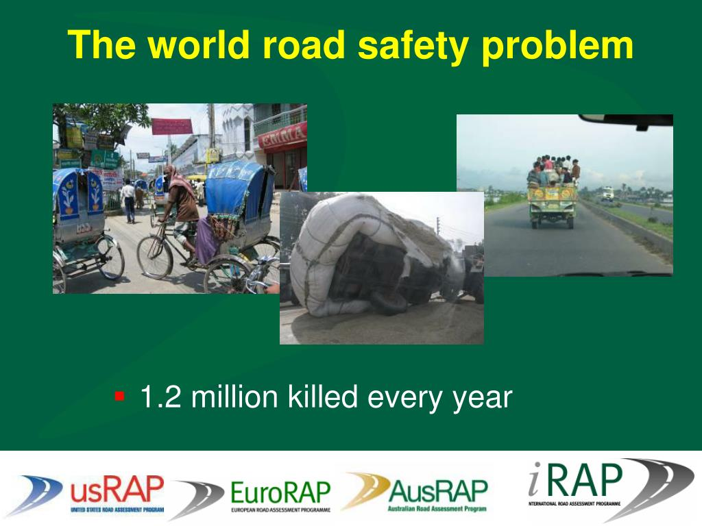 The world road safety problem