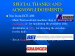 special thanks and acknowledgements30