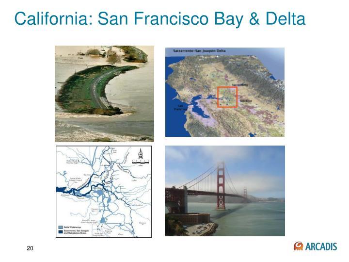 California: San Francisco Bay & Delta