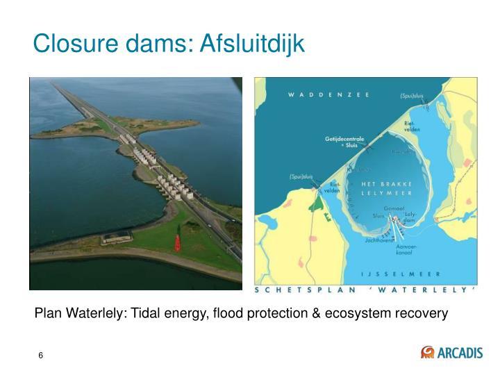 Closure dams: Afsluitdijk