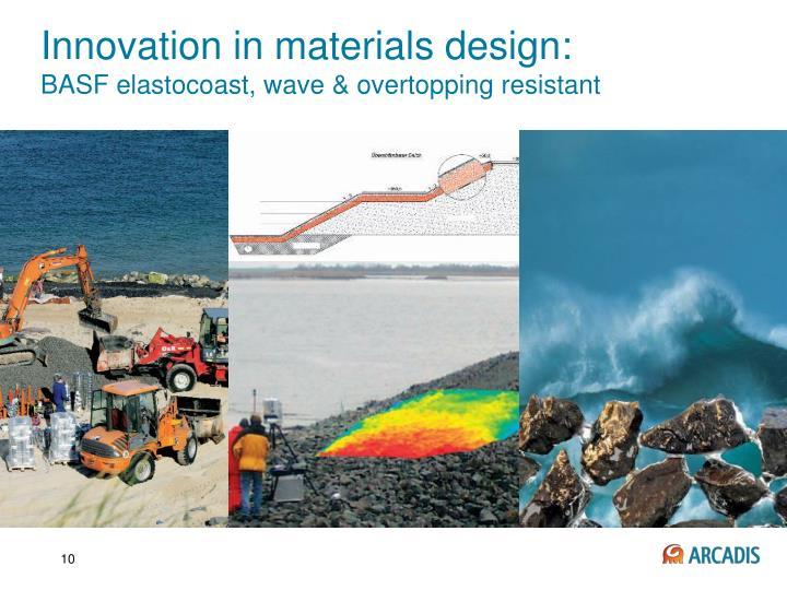 Innovation in materials design:
