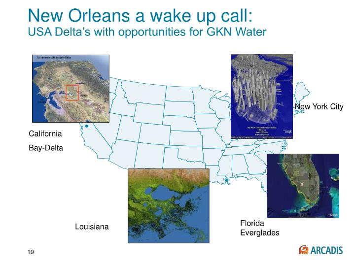 New Orleans a wake up call: