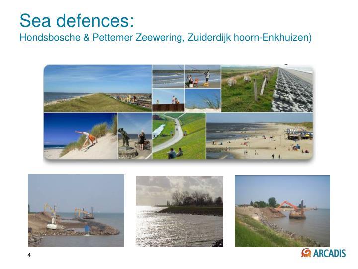 Sea defences: