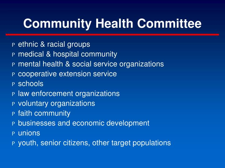 Community Health Committee