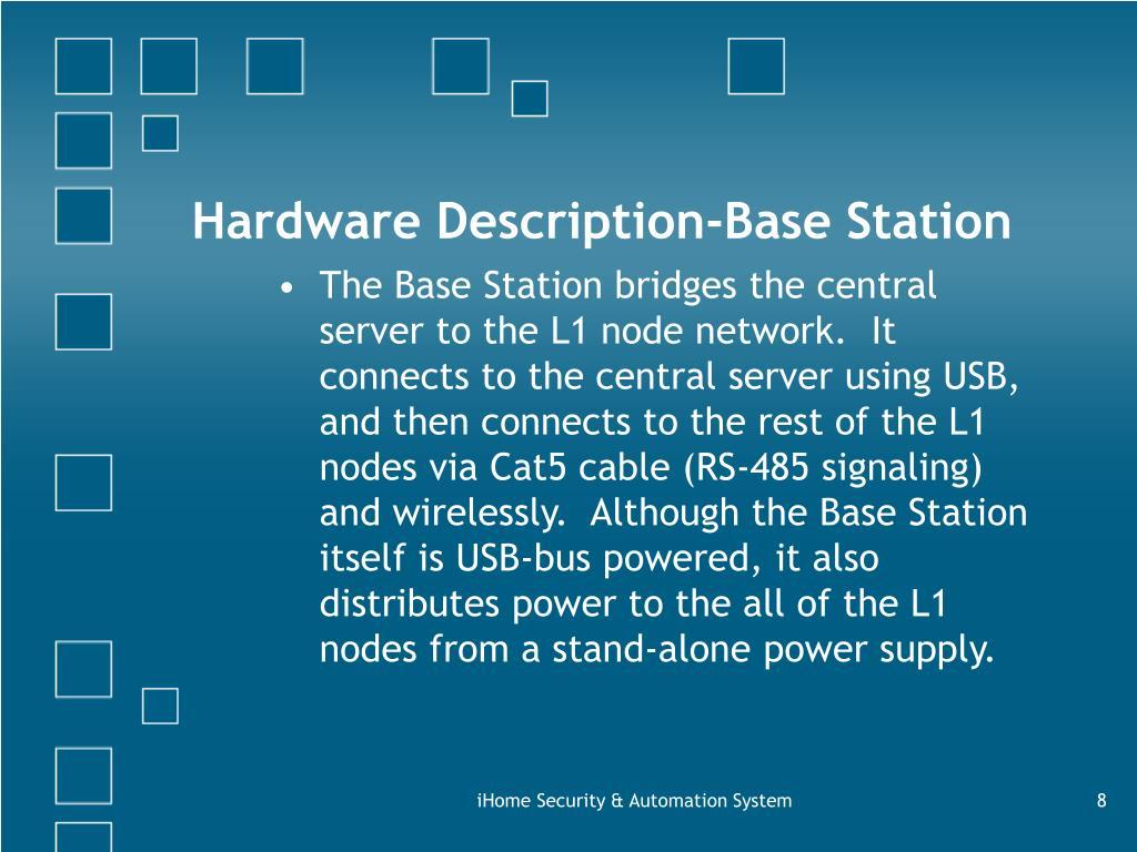 Hardware Description-Base Station