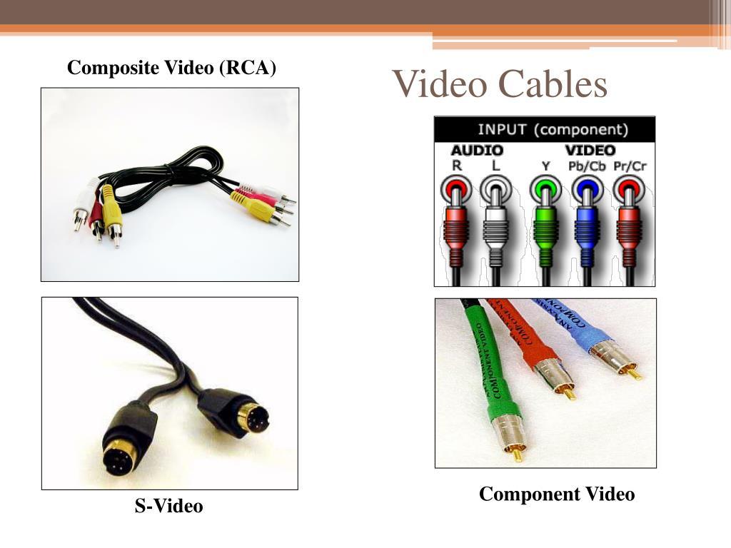 Composite Video (RCA)