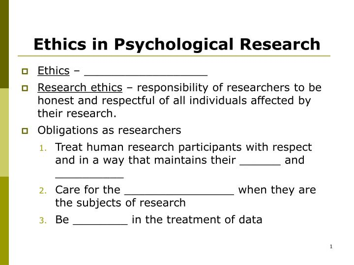 ethics and psychology essay Library: articles & papers related to ethics education ethics and decision-making ethics, psychology.