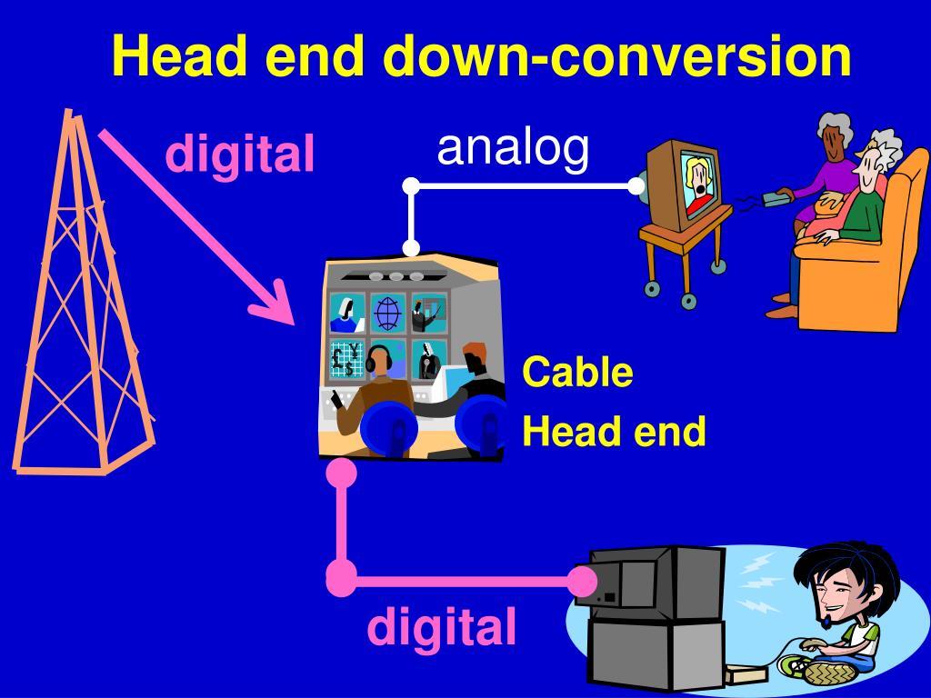 Head end down-conversion
