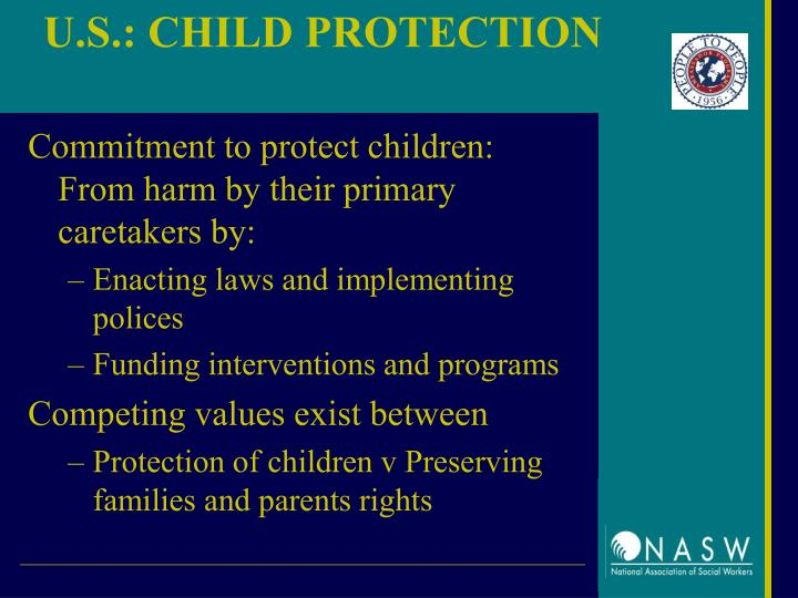 U.S.: CHILD PROTECTION
