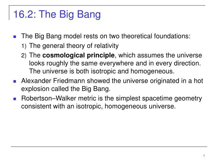 16.2: The Big Bang