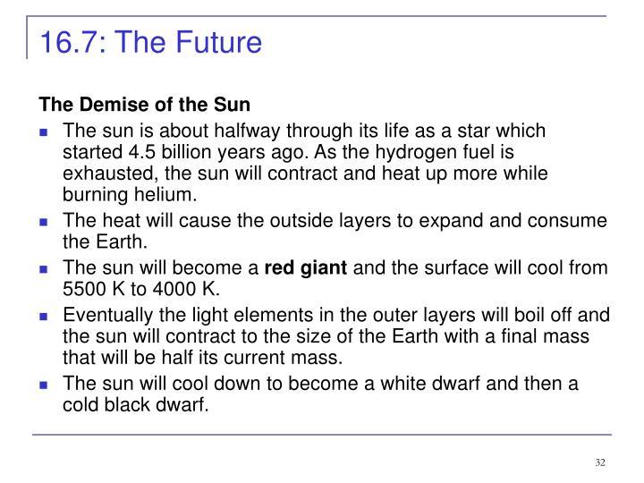 16.7: The Future