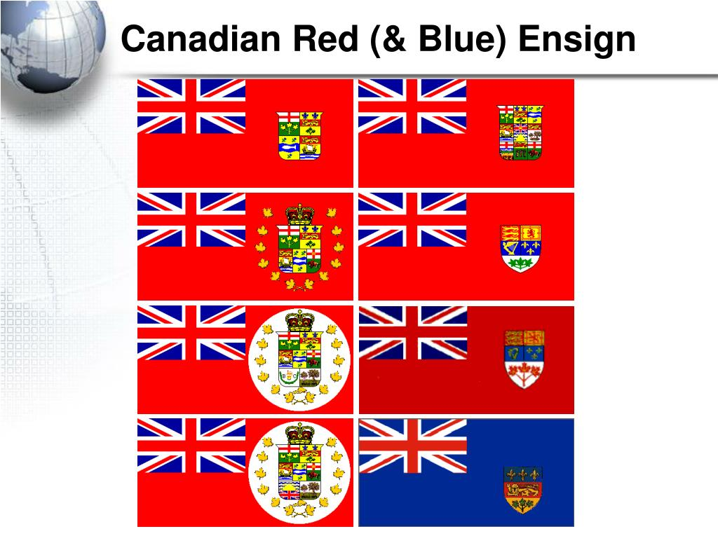 Canadian Red (& Blue) Ensign
