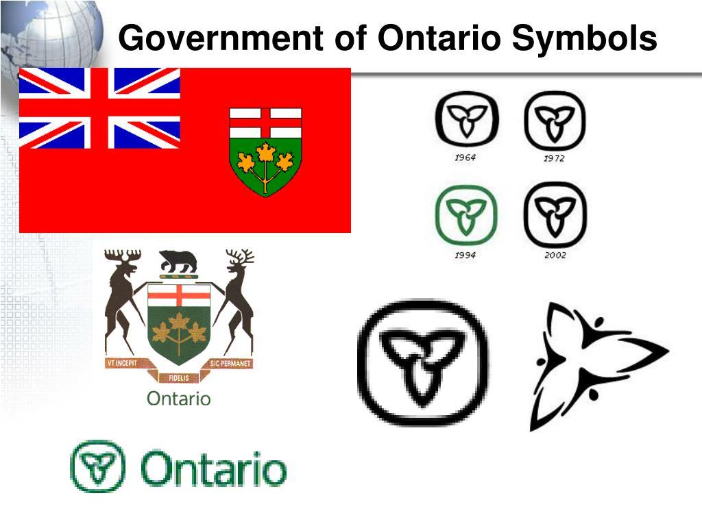 Government of Ontario Symbols