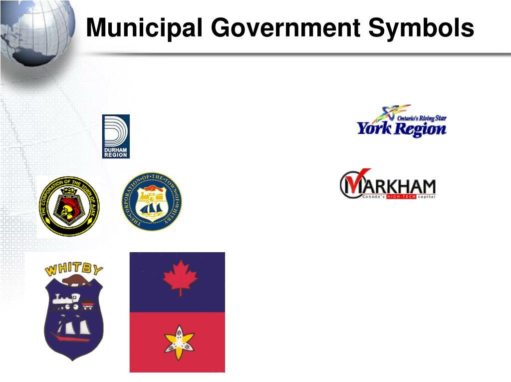 Municipal Government Symbols