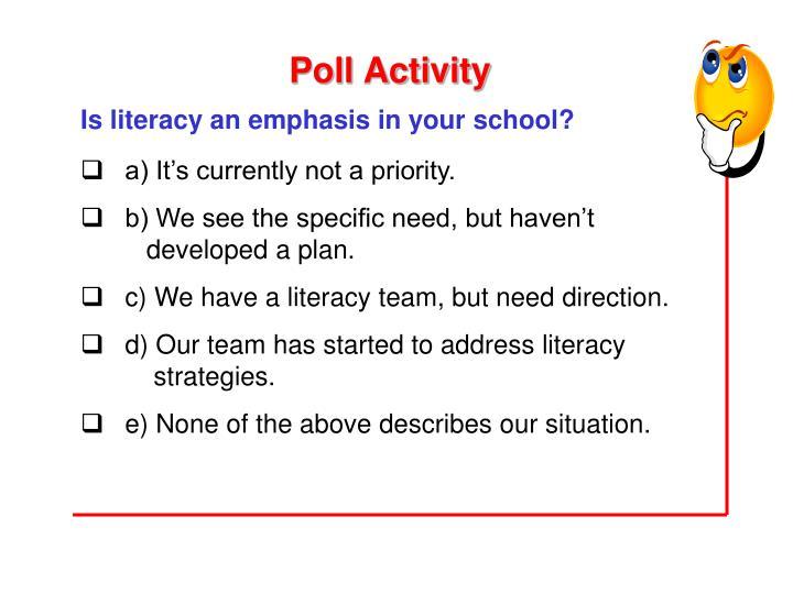 Poll Activity