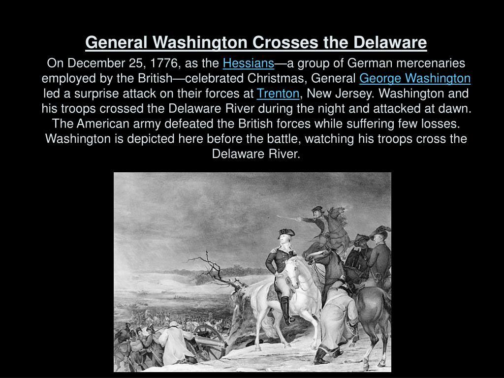 General Washington Crosses the Delaware