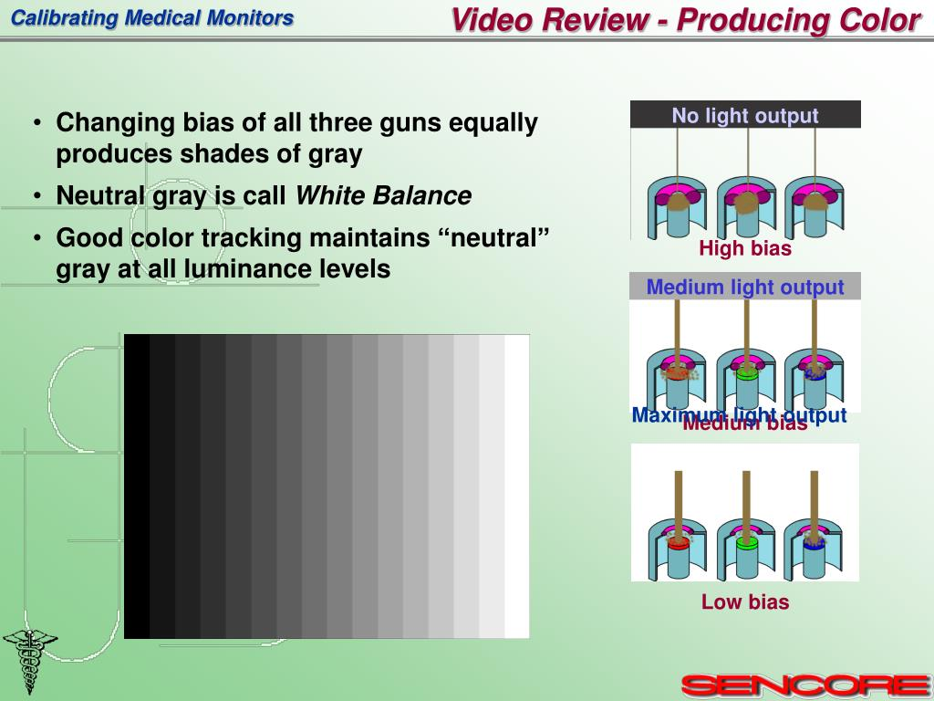 Video Review - Producing Color