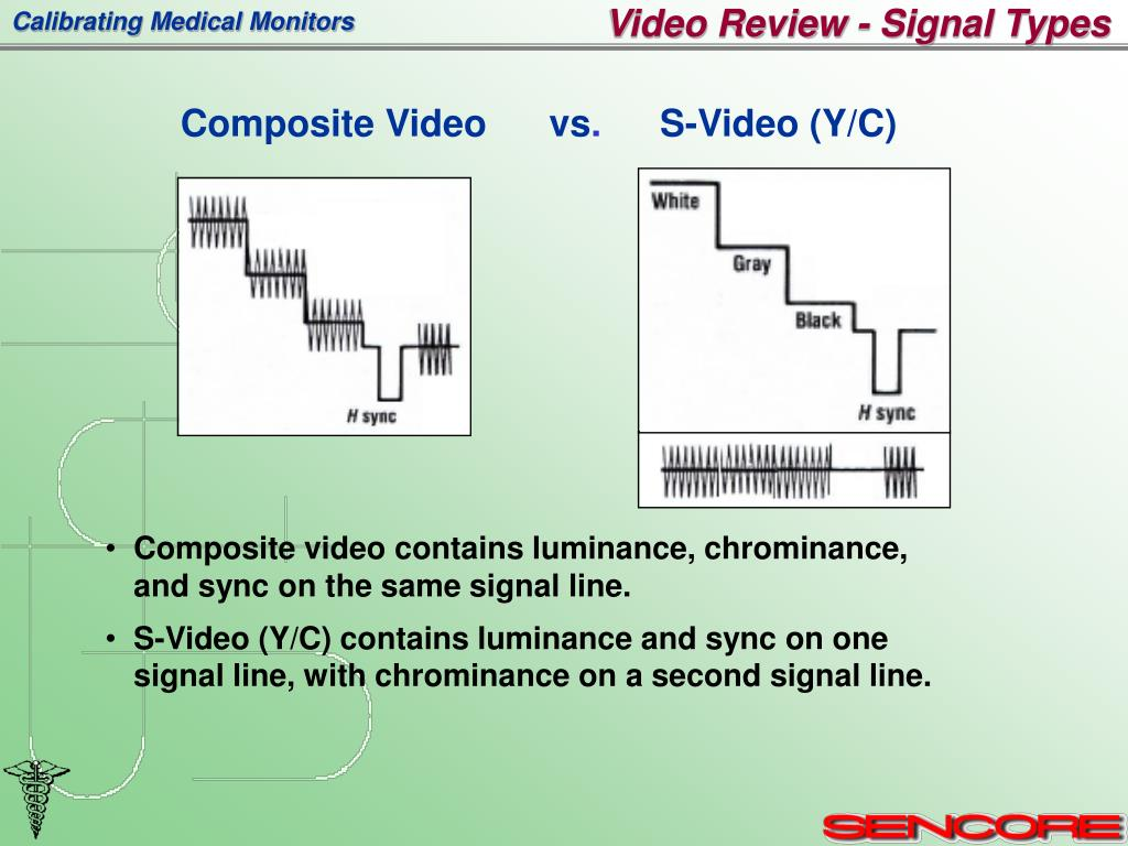 Video Review - Signal Types