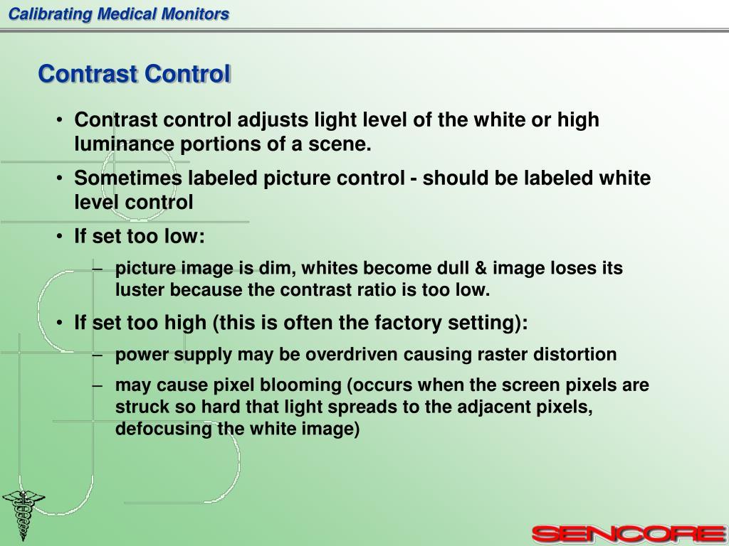 Contrast Control